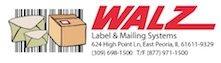Walz Label and Mailing Systems Logo